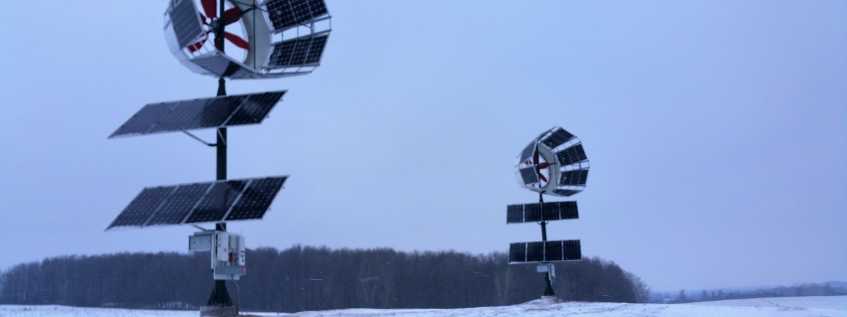 Solar Hybrid Diffused Augmented Wind Turbine